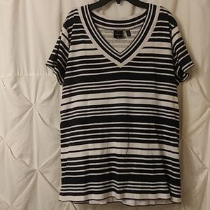 e148963ee0968 Women s Stripe White Rafaella Striped Top on Poshmark